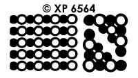 XP6564 Kaders & Hoekjes Parel