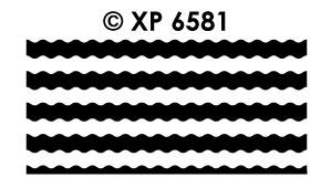 XP6581 Kaders Golfjes Veel