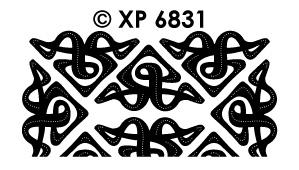 XP6831 Hoeken art deco