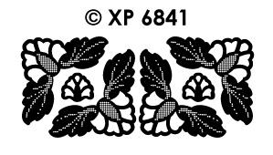 XP6841 Hoeken Bloemenvorm