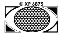XP6875 Background Oval and Oval