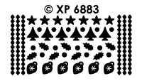 XP6883 diverse kerstdots multidots