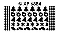 XP6884 diverse kerstdots multidots
