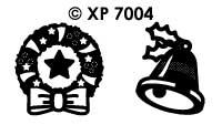 XP7004 Klokken & Kransen