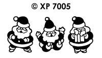 XP7005 Kerstmannen
