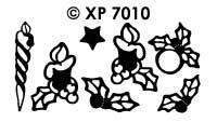 XP7010 Kerstkaarsen