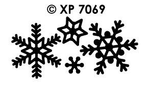 XP7069 Sneeuwvlokjes