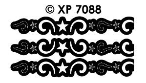 XP7088 Sterren Ornament randje