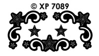 XP7089 Sterren Ornament Hoekjes