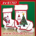 ZV81707 Set 2 staande kerstkaarten sok